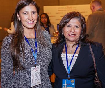 Vivian Montoya and Alexandra Contreras, Colgate Palmolive.